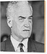 Senator Barry Goldwater Wood Print