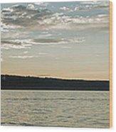 Seneca Lake Living Wood Print