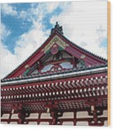 Sensoji Temple Wood Print
