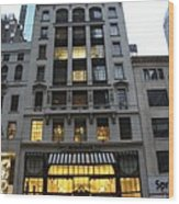 Sephora House - 5th Ave Nyc Wood Print
