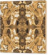 Sepia Bag Fairies 2 Wood Print