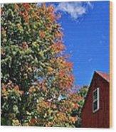 September Morn Wood Print
