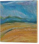 September Storm Wood Print by Dawn Vagts