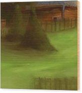 Serene New England Cabin In Summer  #6 Wood Print
