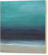 Serenity- Abstract Landscape Wood Print