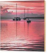 Serenity Bay Dreams Wood Print