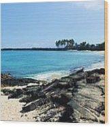 Serenity Cove Wood Print