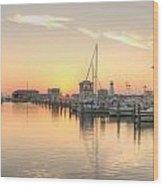 Serenity Harbor 2 Wood Print