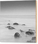 Serenity Sea Wood Print