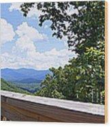 Serenity View Wood Print