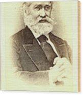 Sergei Mikhailovich Solovev, Half-length Portrait Wood Print