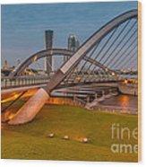 Seri Empangan Bridge Wood Print