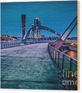 Seri Gemilang Bridge 1 Wood Print