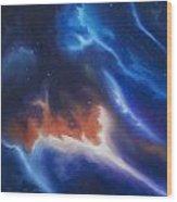 Seria Nebula Wood Print