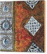 Serie Lissette V Wood Print
