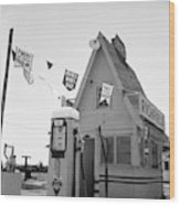 Service Station, 1939 Wood Print