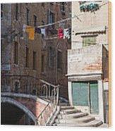 Sestier San Polo - Venice Wood Print