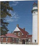 Seul Choix Lighthouse Wood Print