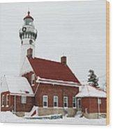Seul Choix Point Lighthouse Wood Print