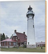 Seul Choix Point Lighthouse Wood Print