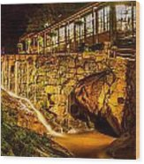 Seven Falls Visitors Center Wood Print