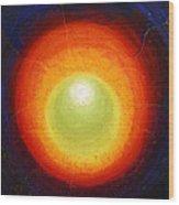 Seven Inside Seven Outside - The Shining Egg Tertiary Inside  Wood Print
