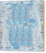 Seven Of Swords Wood Print
