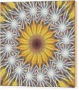 Seven Sistars Of Light K1 Wood Print