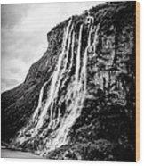 Seven Sisters Waterfall Wood Print