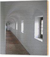 Seven Windows Wood Print