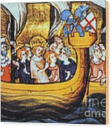 Seventh Crusade 13th Century Wood Print