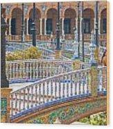 Sevilla In Spain Wood Print