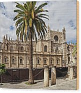 Seville Cathedral In Spain Wood Print
