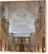 Seville Cathedral Interior Wood Print