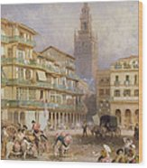 Seville Wood Print