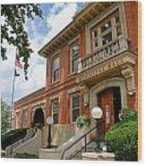 Sewickley Municipal Hall Wood Print