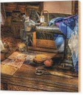Sewing Machine  - Sewing Machine IIi Wood Print