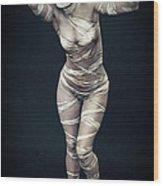 Sexy Mummy Girl Wood Print