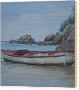 Seychelles Memories Wood Print