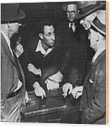 Sf Labor Leader Harry Bridges Wood Print