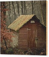 Shack Wood Print