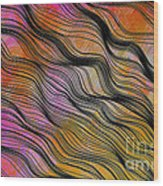 Shadecloth Wood Print