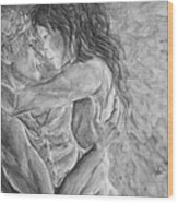 Shades Of Gray Ultimate Romance Wood Print