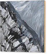 Shades Of Grey 2 Wood Print