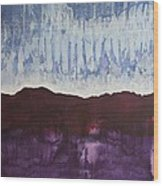 Shades Of New Mexico Original Painting Wood Print