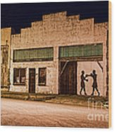 Shadow Boxing Wood Print by Gary Holmes