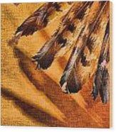 Shadowed Heritage Wood Print