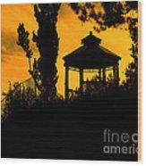 Shadowlands 6 Wood Print