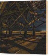 Shadows And Light Wood Print