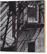 Shadows Wood Print by Bob Orsillo